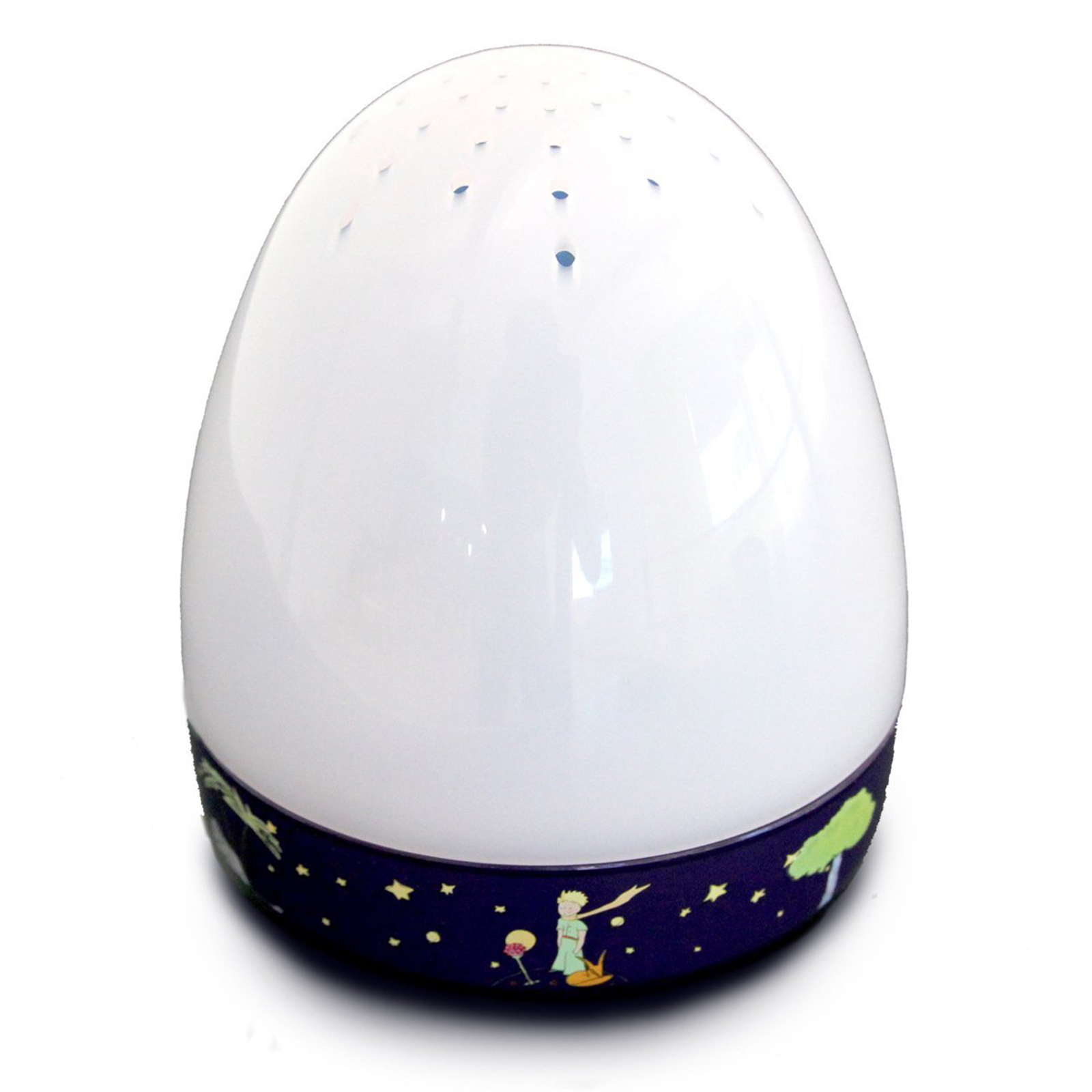 Lámpara nocturna LED Little Prince, caja de música