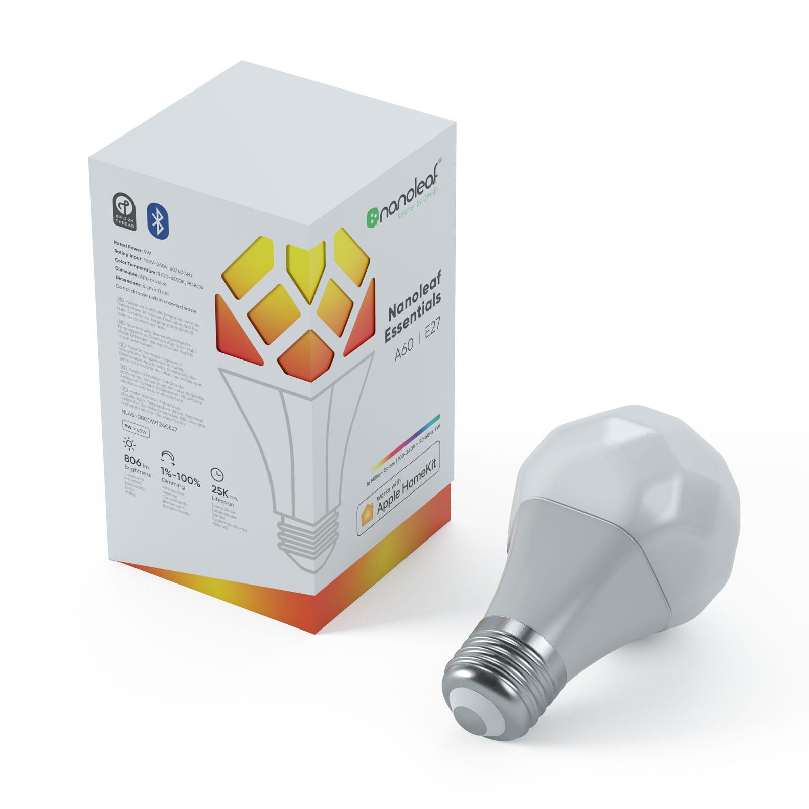 Nanoleaf Essentials E27 LED-Lampe 9W Light Bulb