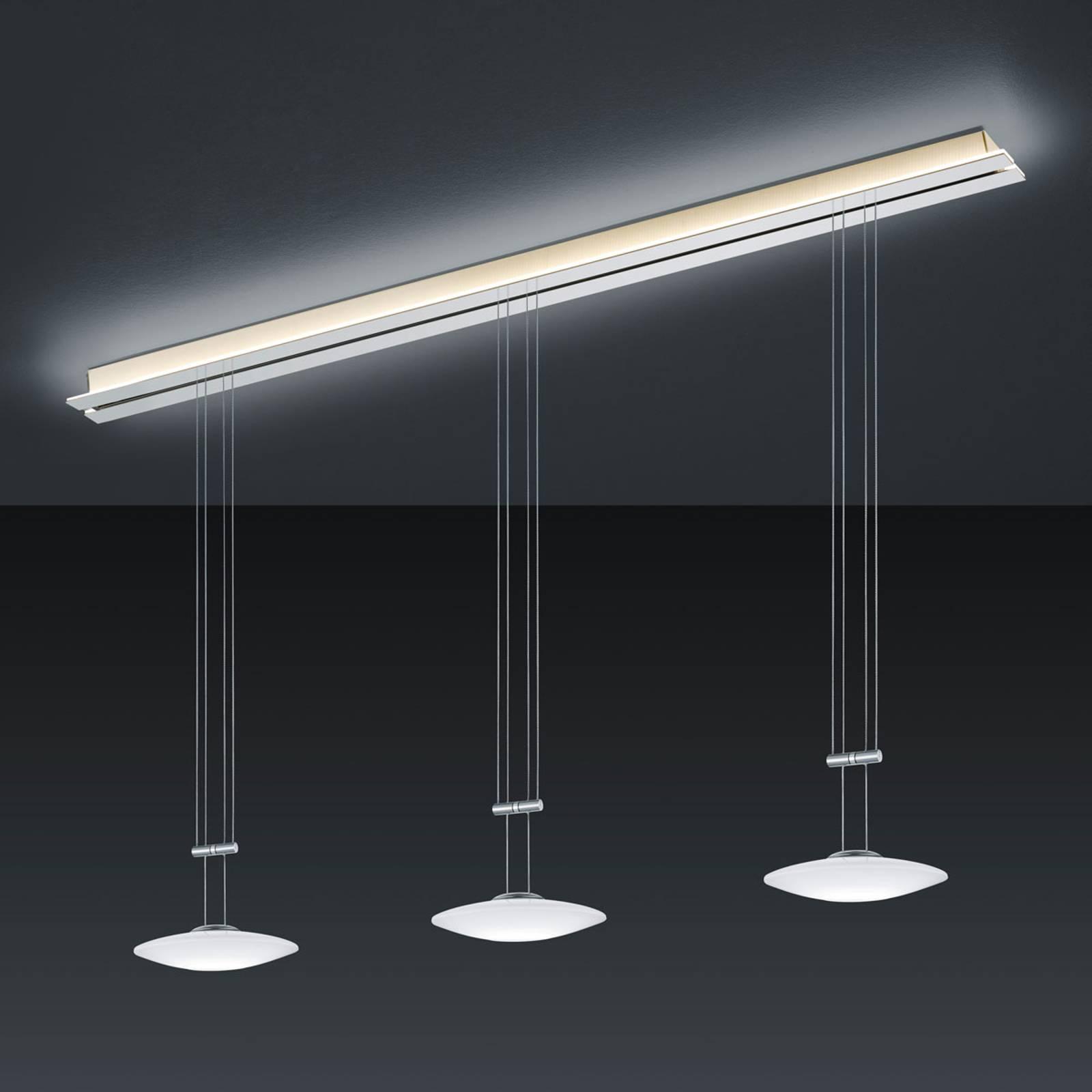 BANKAMP Strada Orbit lampada sospensione a 3 luci