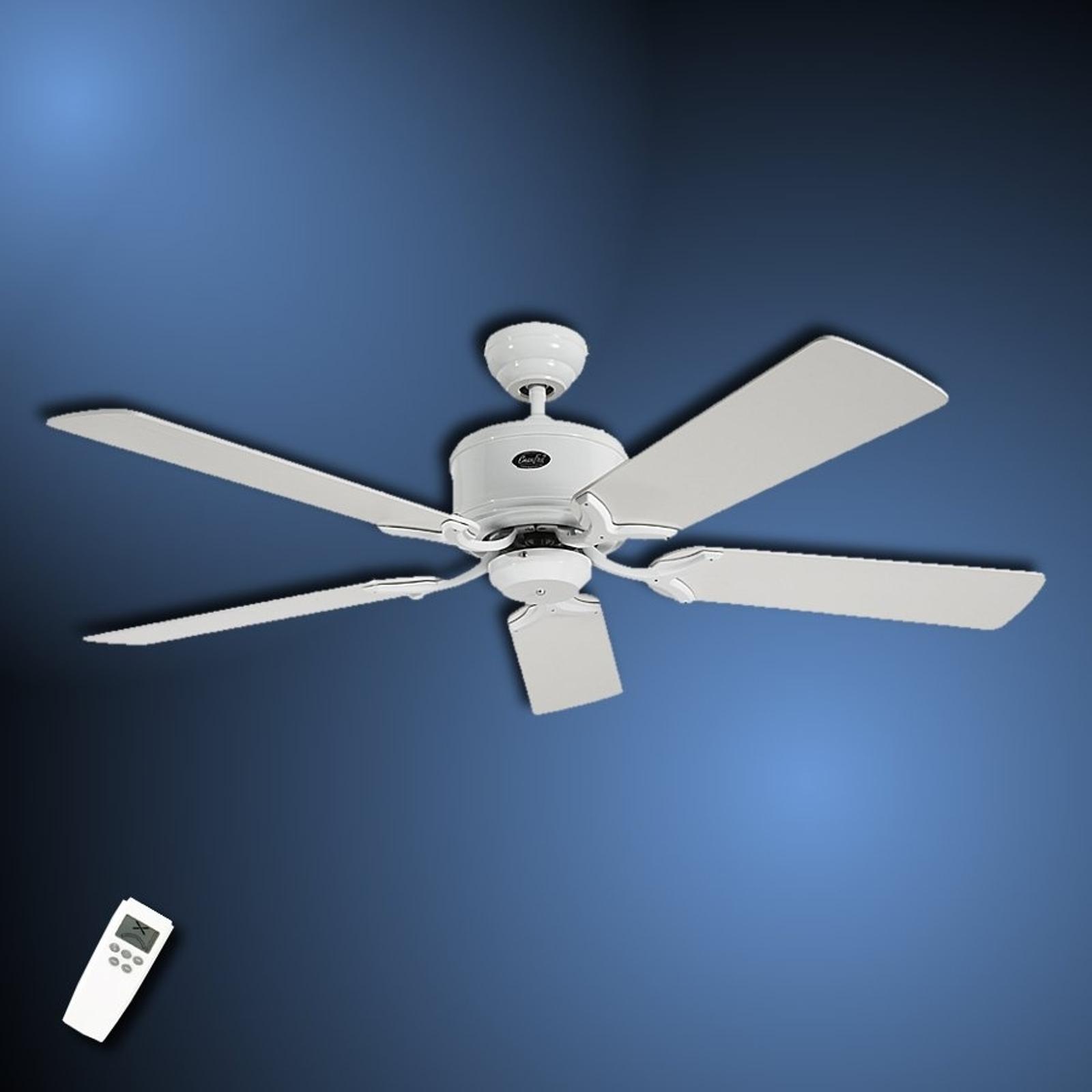 Střízlivý stropní ventilátor Eco Elements bílošedá