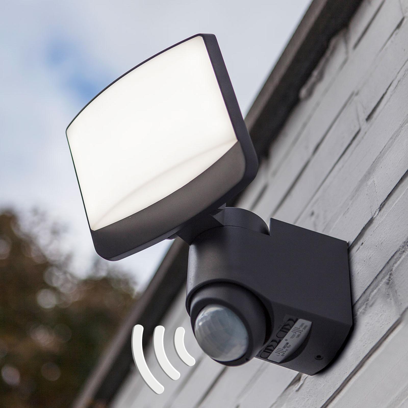 Utendørs LED-spot Sunshine med bevegelsessensor