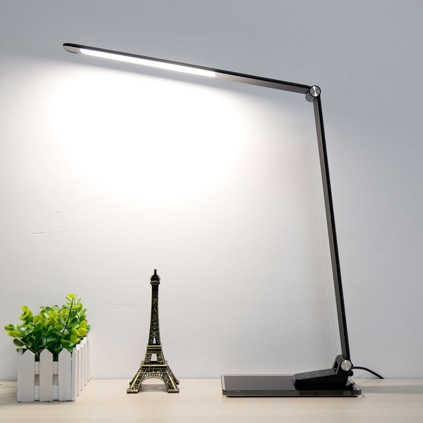 LED-Schreibtischleuchte Starglass mit Glassockel