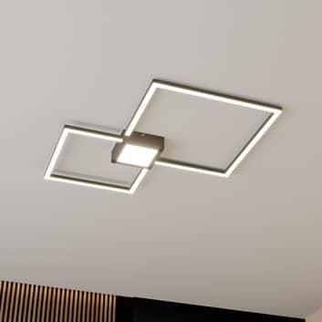 Lindby Duetto LED stropní svítidlo antracit 28 W