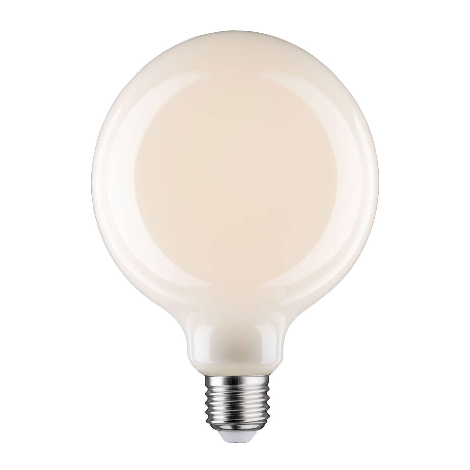 LED globe E27 6W G125 Fil 2.700K opale dimmerabile