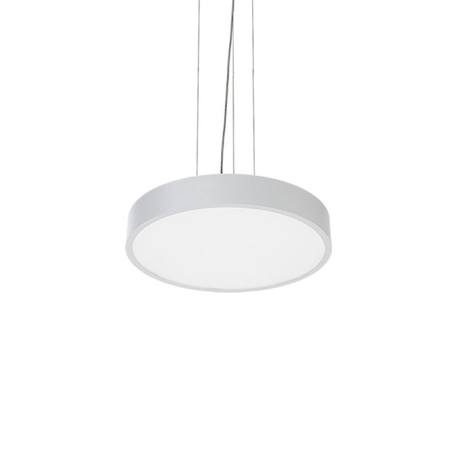 Suspension LED C90-P, Ø 57 cm, 3 000 K, blanche
