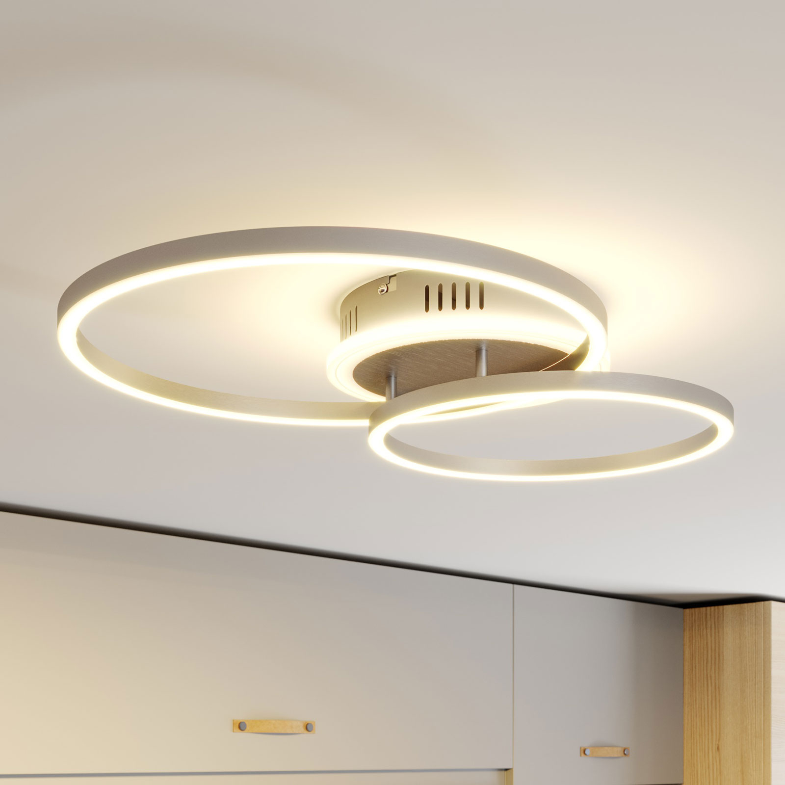 Lindby Smart Edica plafoniera LED