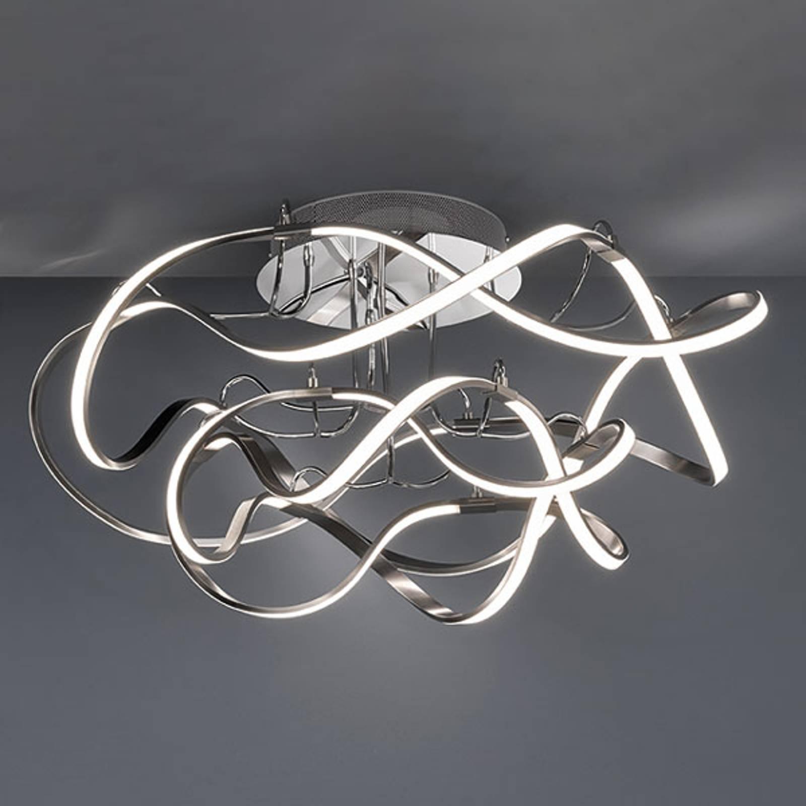 Lampa sufitowa LED Naxos ściemniana przełącznikiem