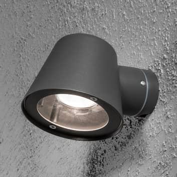 Utomhusvägglampa Trieste aluminium, antracit