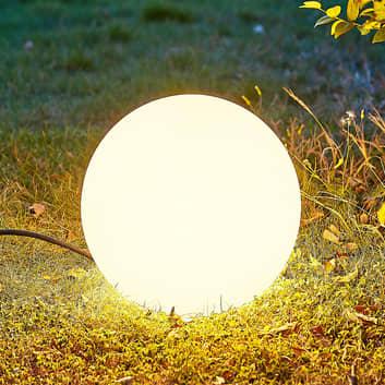 Arcchio Orlana sfera luminosa IP65 bianco, piccola