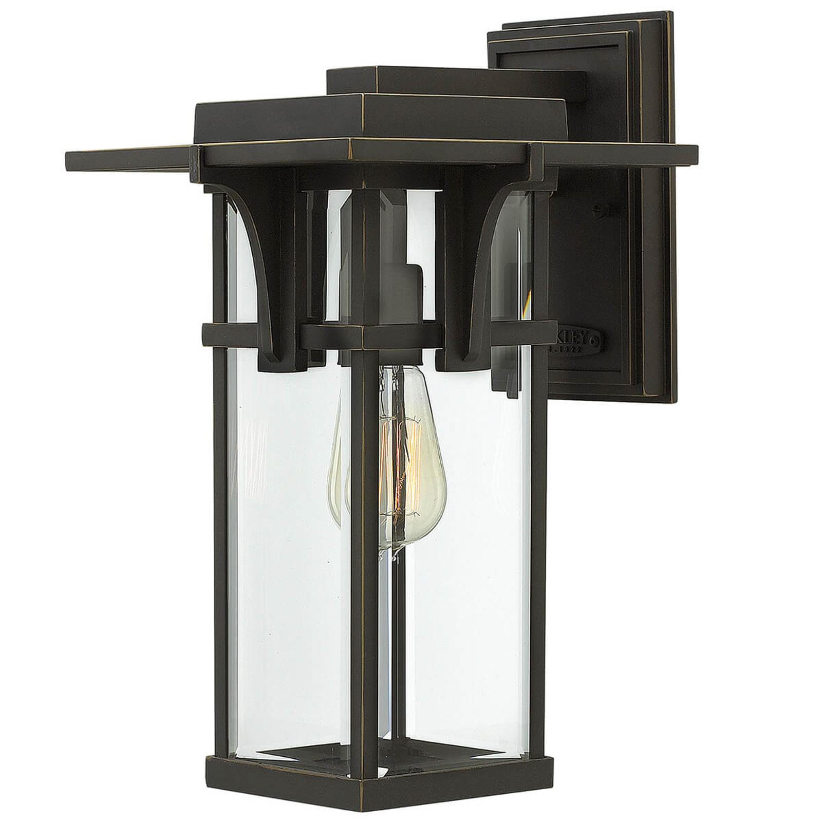 In industriële stijl afgewerkte wandlamp Manhattan