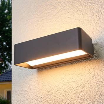 Lámpara de pared LED sencilla Logan para ext. IP65