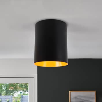 Designer-LED-taklampa Tagora i cylinderform