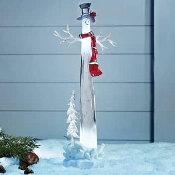 Dekorativ LED snemand Dumle 34 cm