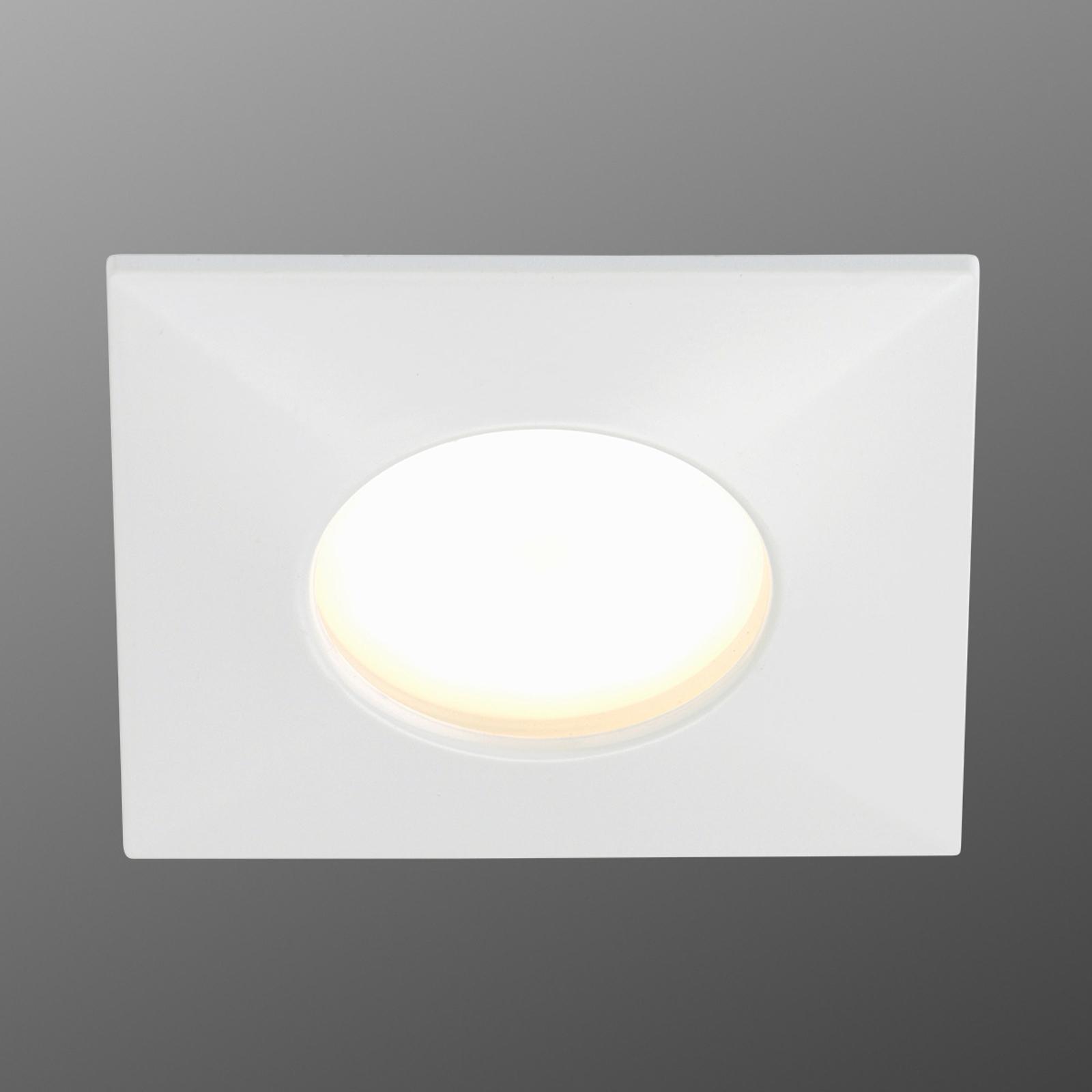 Luca LED inbouwspot IP44 wit