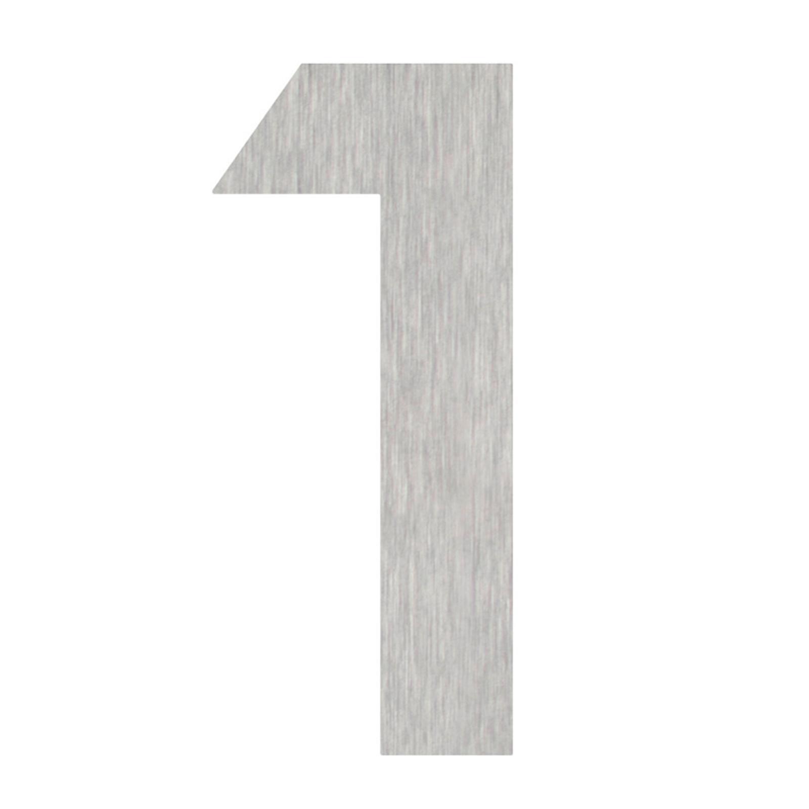 Produktové foto Heibi Domovní čísla číslice 1