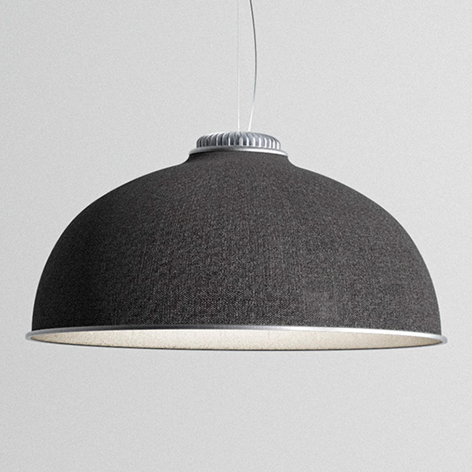 Luceplan Farel LED-Hängeleuchte Schirm dunkelgrau