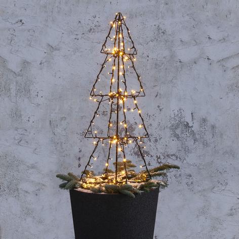 LED-Außendeko Light Tree Foldy, Höhe 90 cm