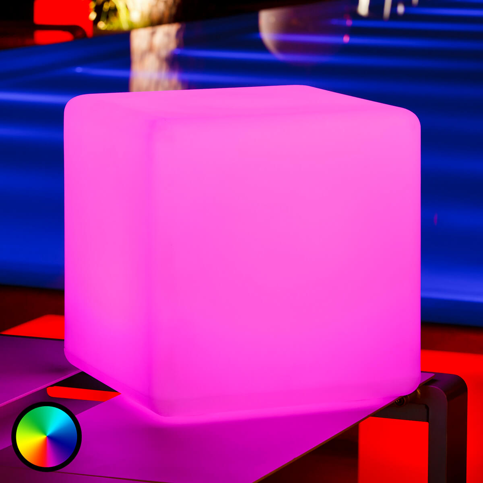Cube – świecąca kostka, zewnętrzna