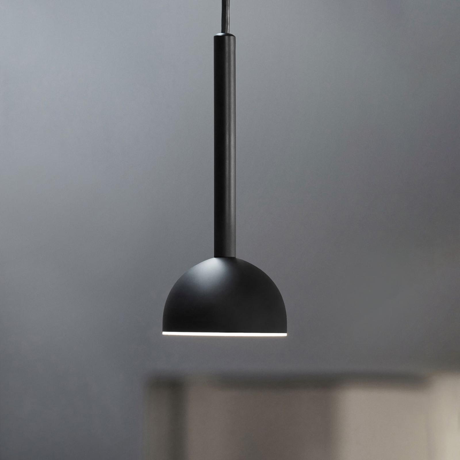 Northern Blush LED-hængelampe, sort
