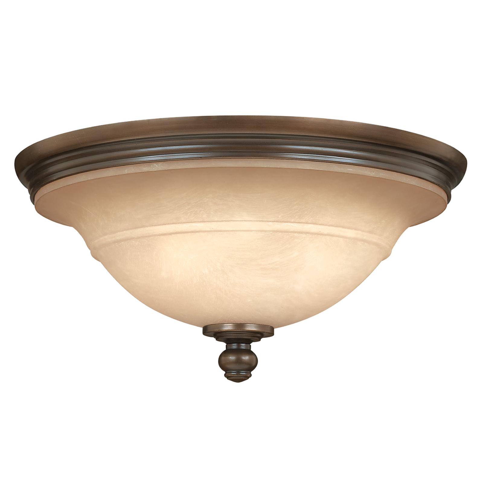 Rustik plafondlampa PLYMOUTH