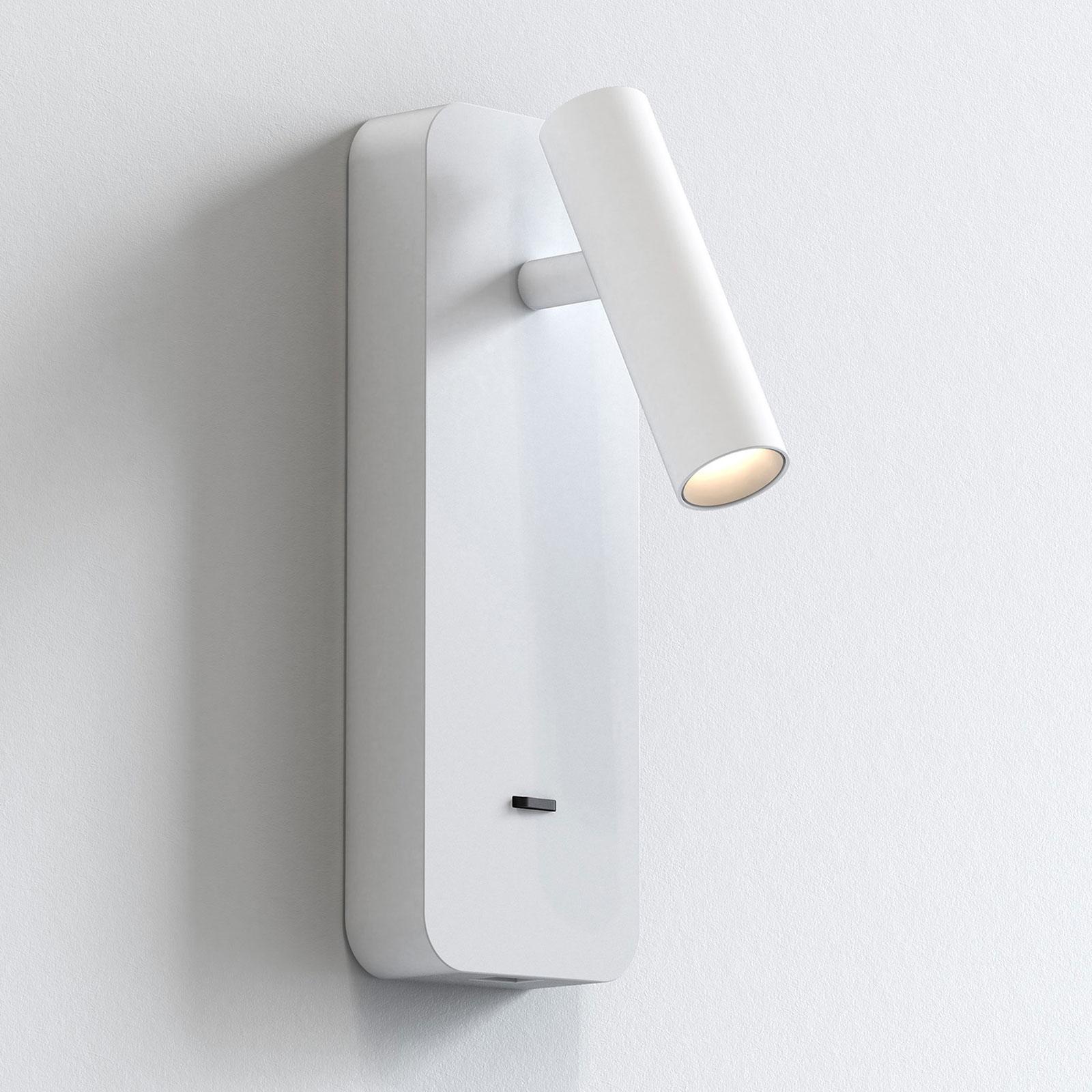 Astro Enna Surface USB LED nástěnné světlo, bílá