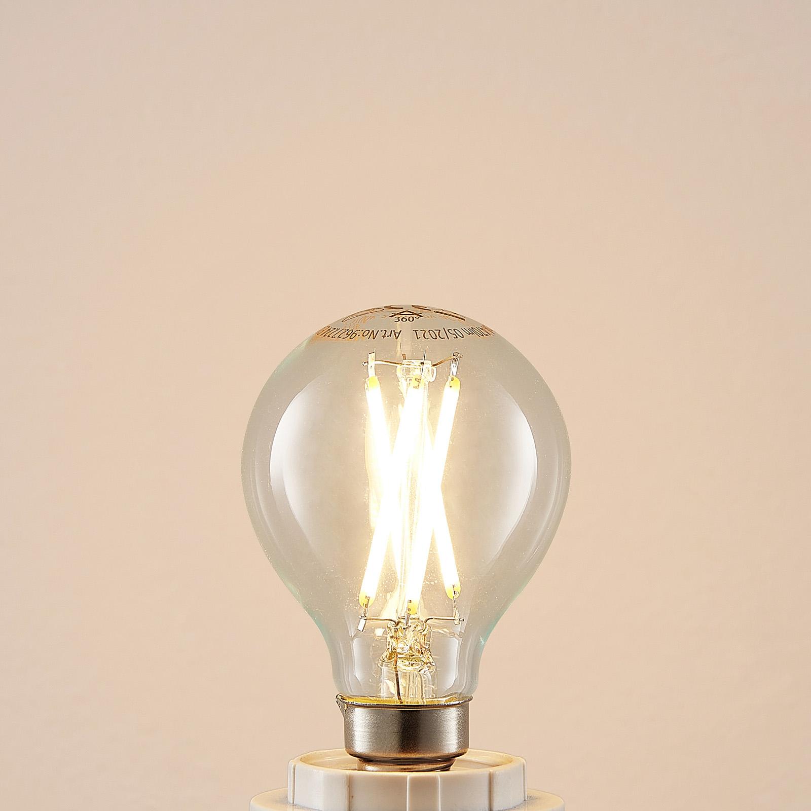 LED-pære E14 4 W 2700K filament dråpe dimbar