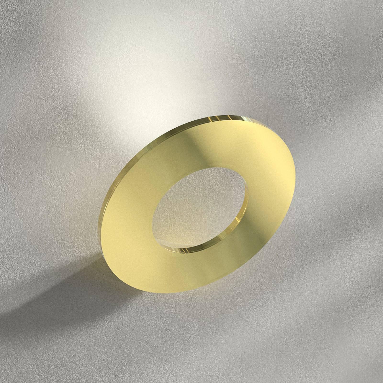 Applique LED Passepartout, laiton