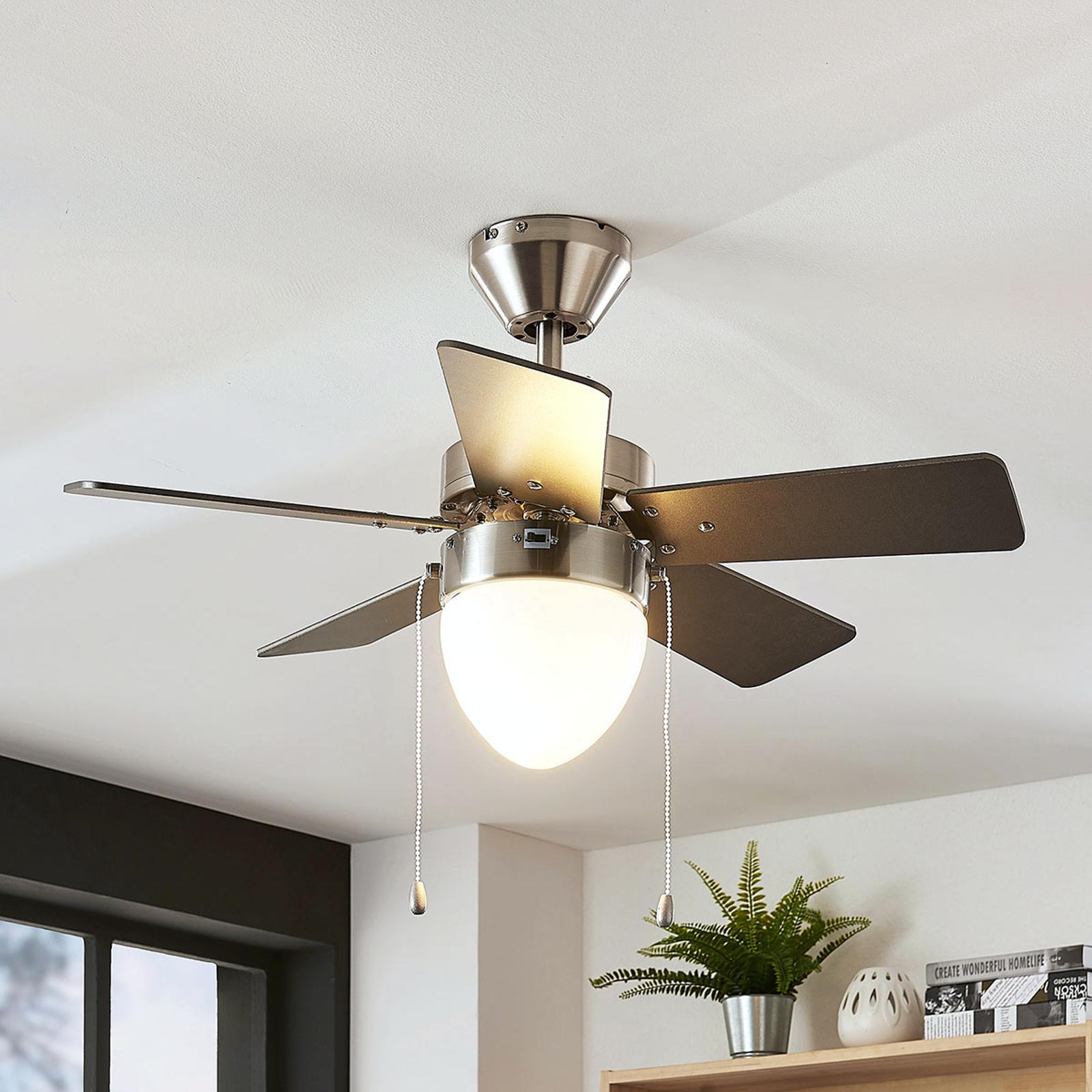 Stropní ventilátor Ante, osvětlený, 5vrtulí