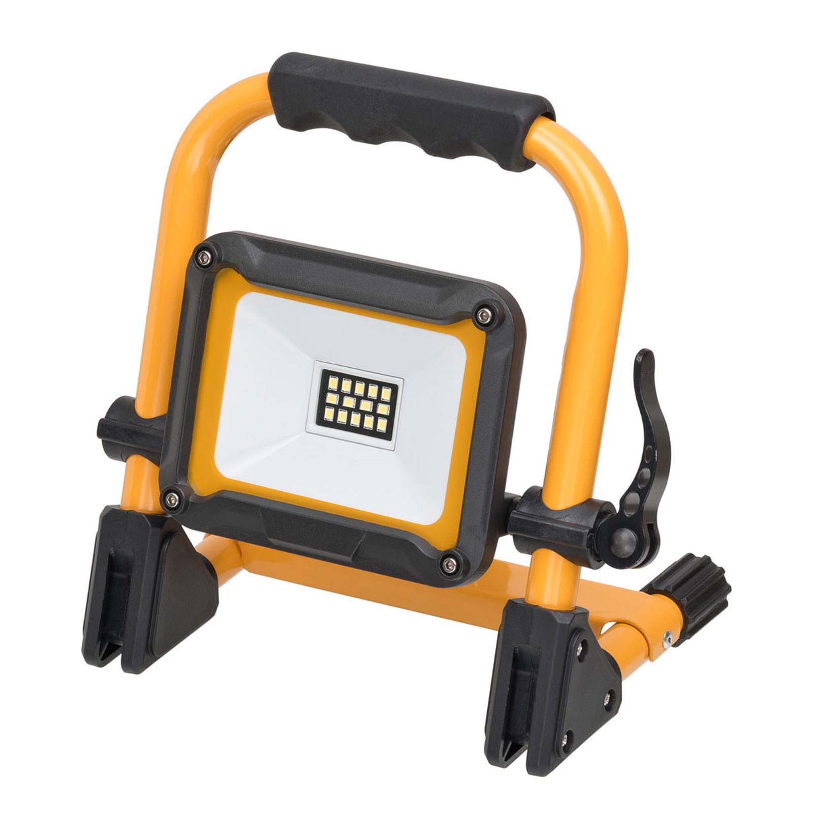 LED-Bauscheinwerfer Jaro, mobil, IP65 10W