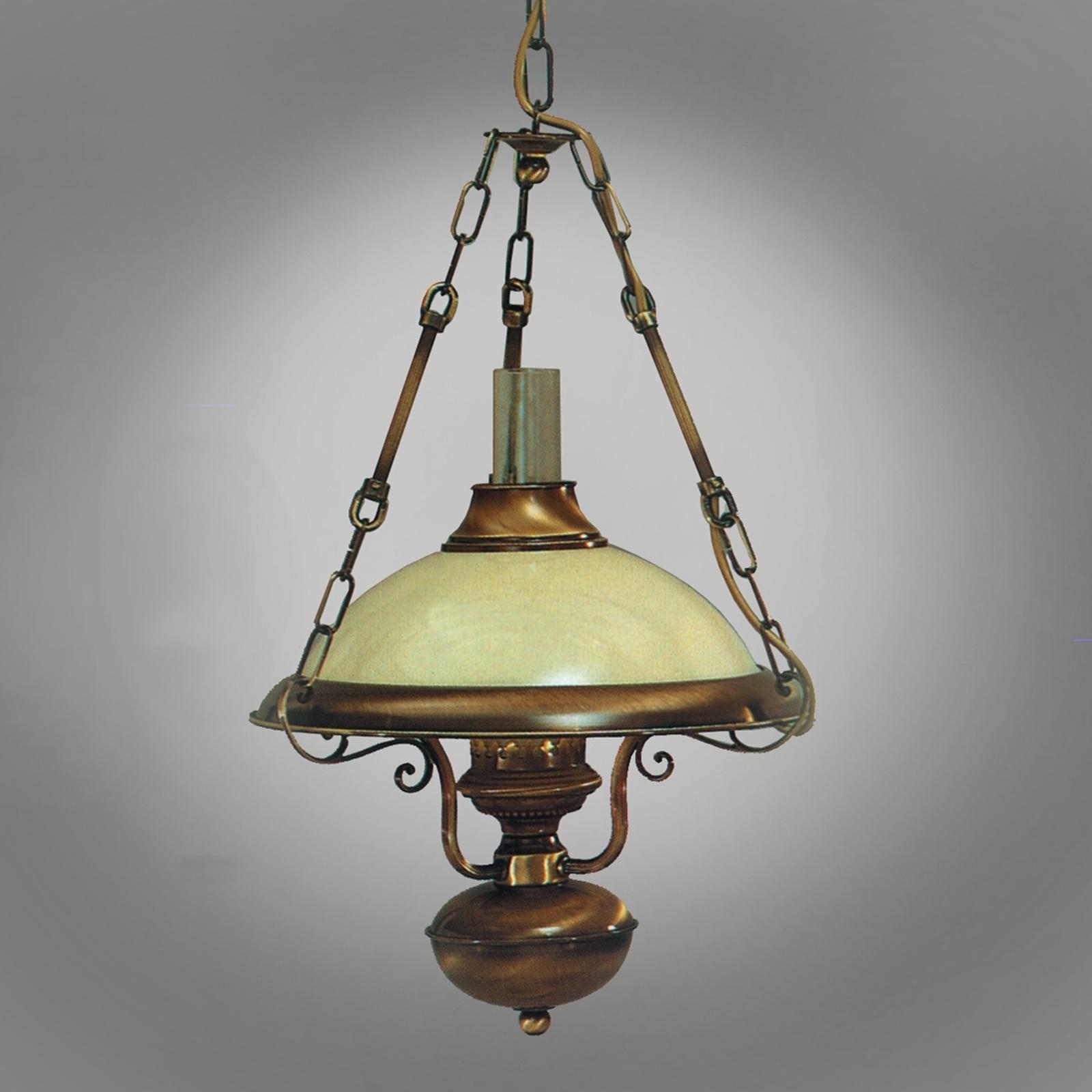Lampa wisząca VALENTINA w kształcie latarni