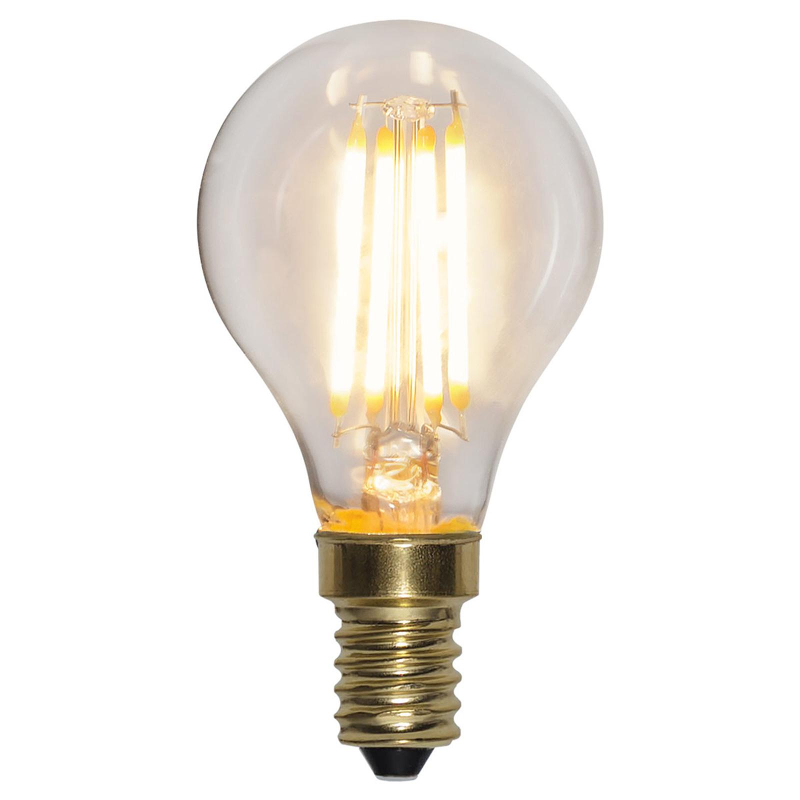 LED lamp E14 4W Soft Glow 2.100K 3-stap dimming