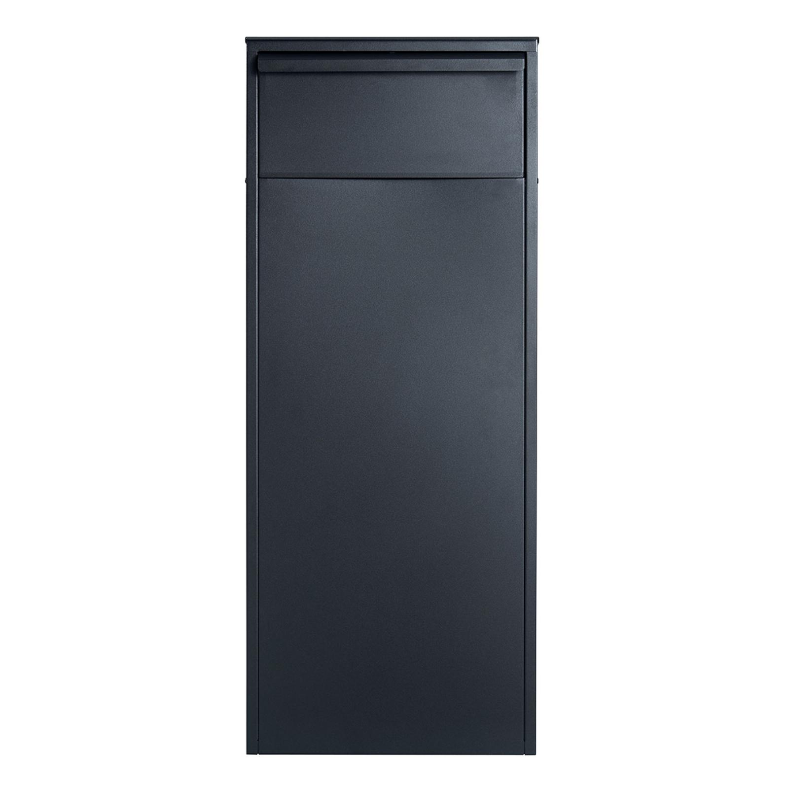Staande brievenbus Allux 800S-B in zwart