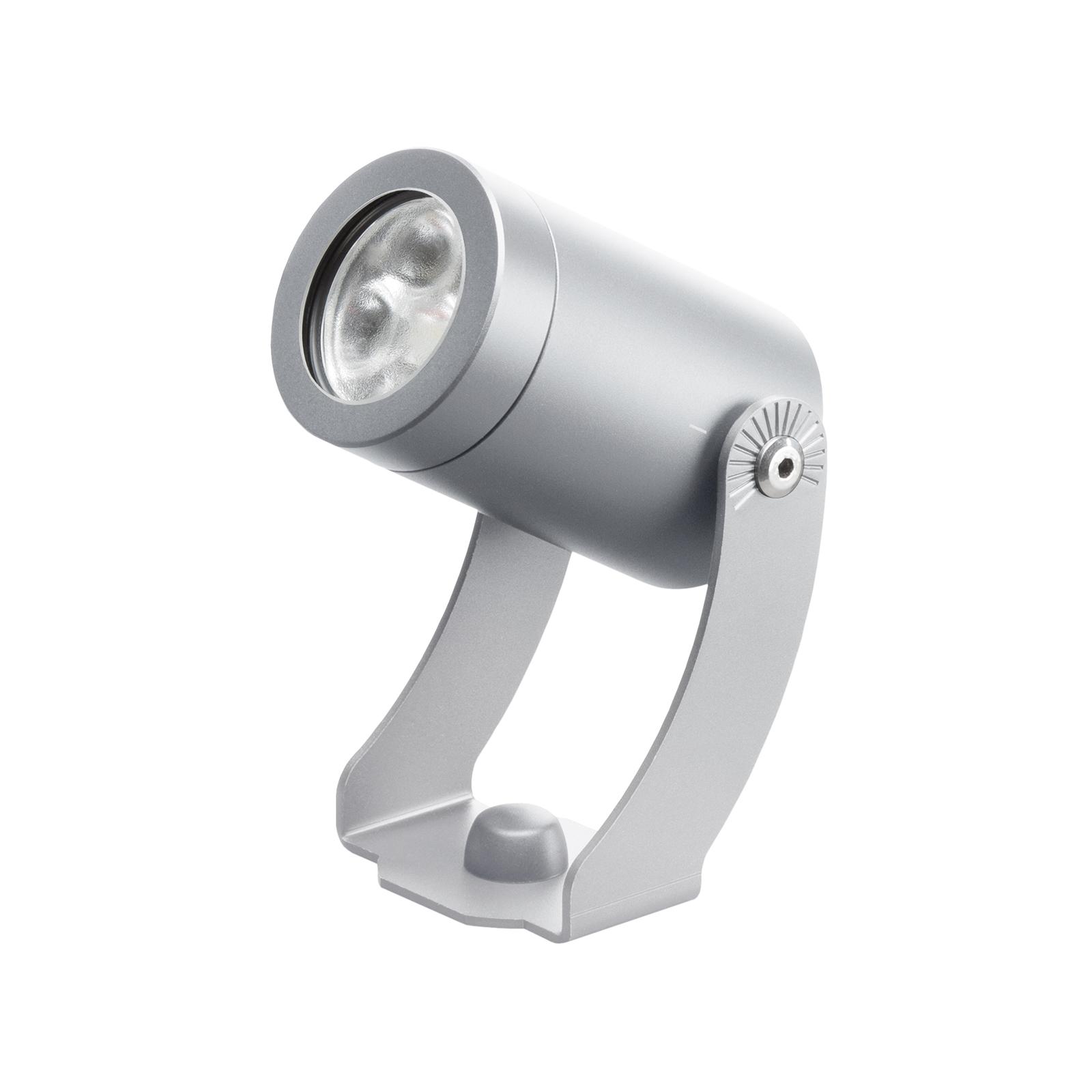 LED-Außenstrahler 1441LED, silber, 30°