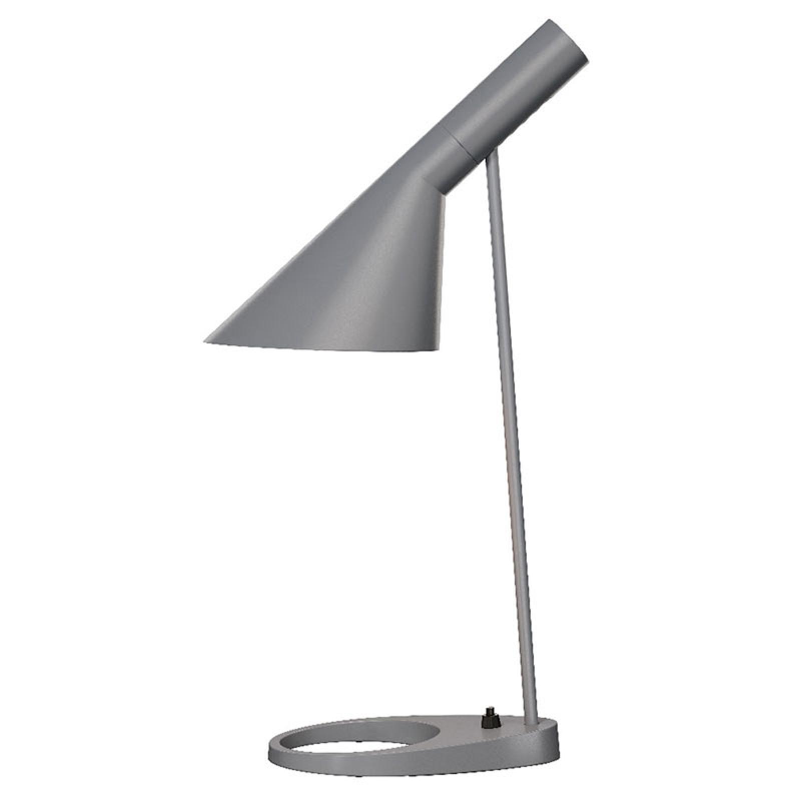 Louis Poulsen AJ - Designer-Tischlampe, dunkelgrau
