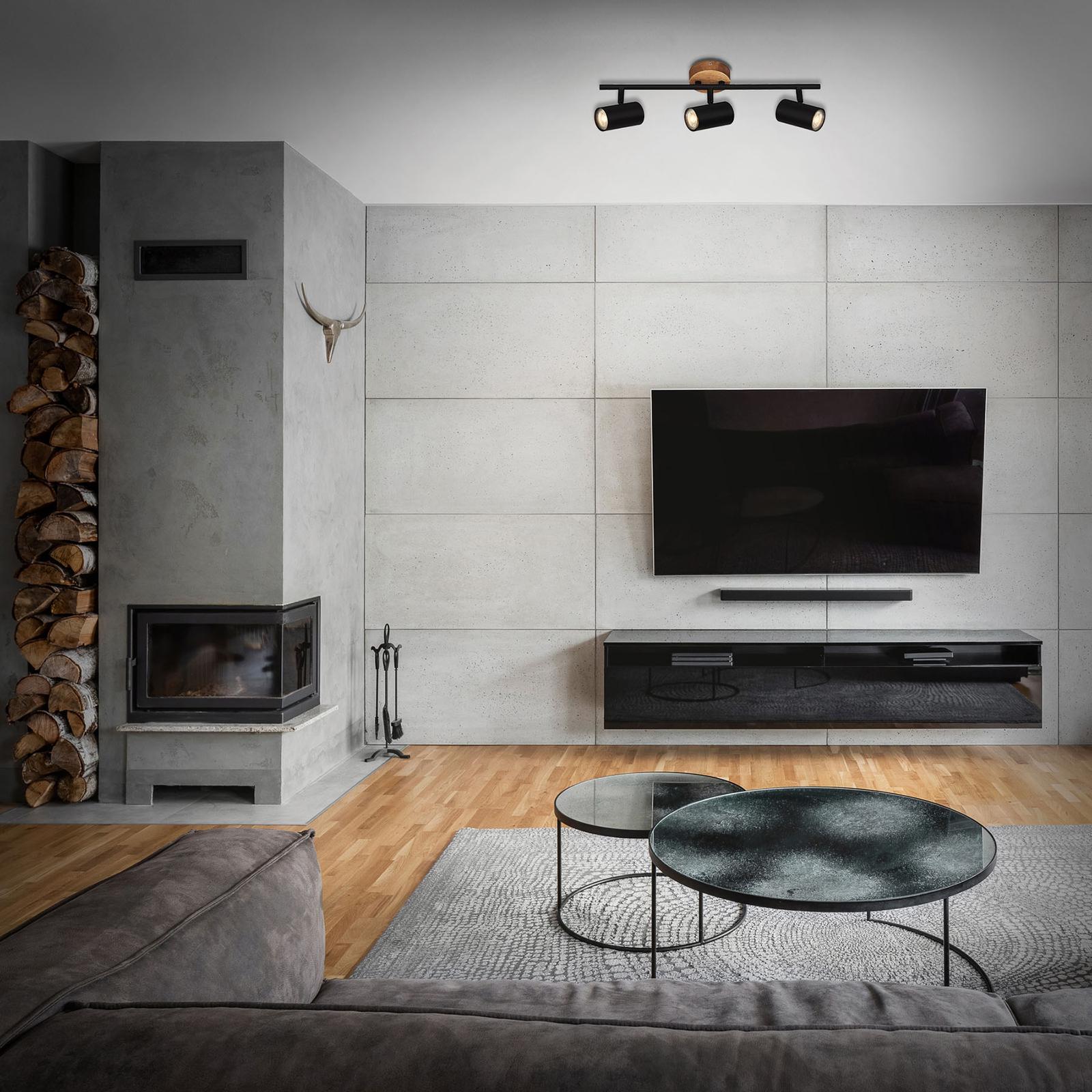 Wood & Style 2920 Deckenstrahler, dreiflammig