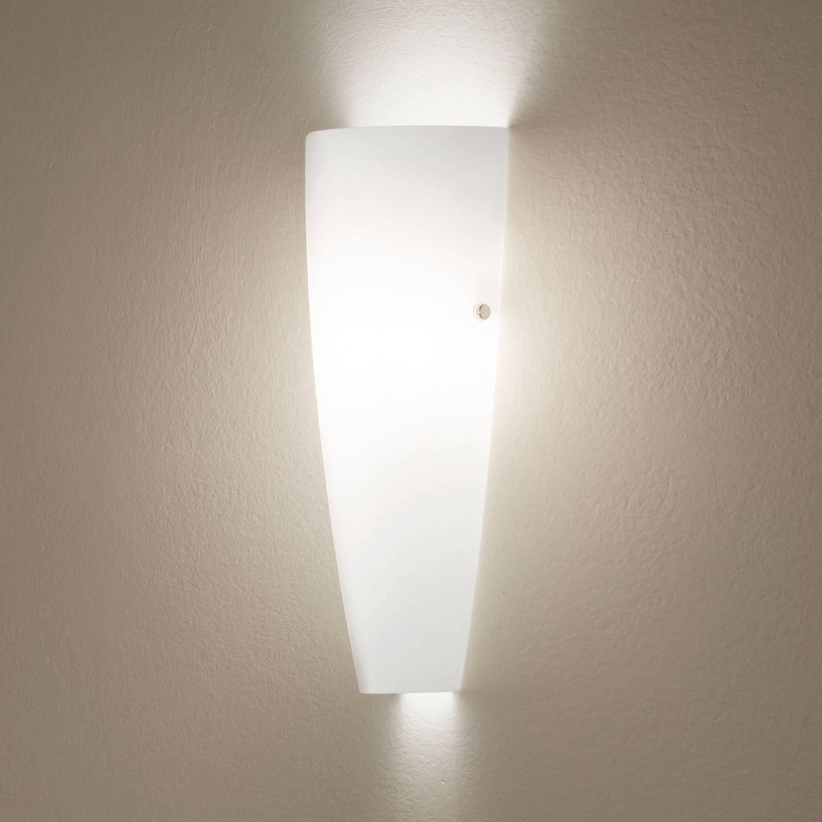 Witte wandlamp DEDALO IP44
