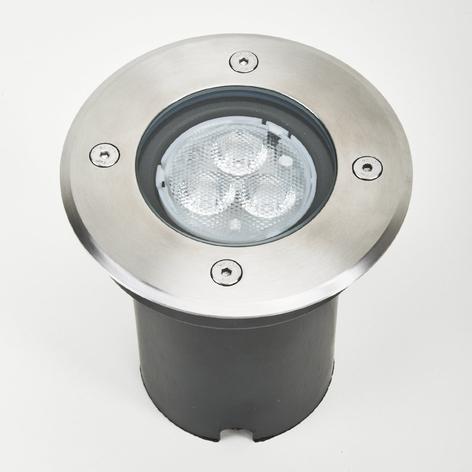 IP67 - Spot LED encastrable dans le sol Ava, rond
