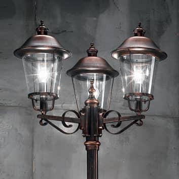 Lampione Mariella a 3 luces