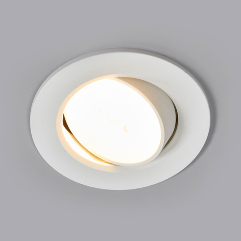 La lámpara empotrada LED Quentin blanca