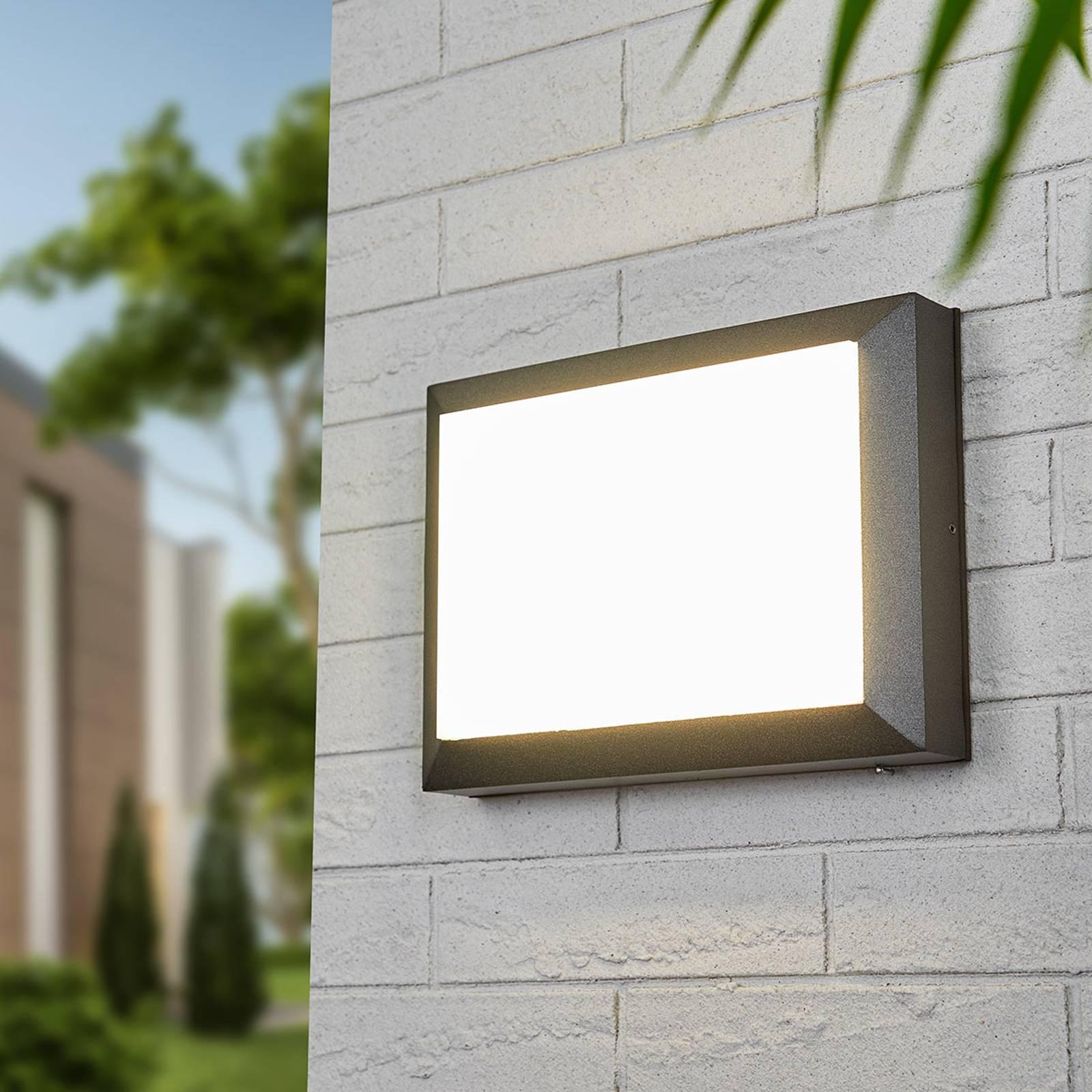 Applique LED da esterni Kiran paralume antiurto