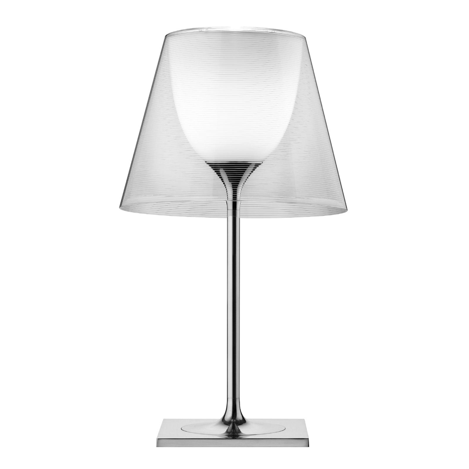 FLOS KTribe T2 stolná lampa, priehľadná