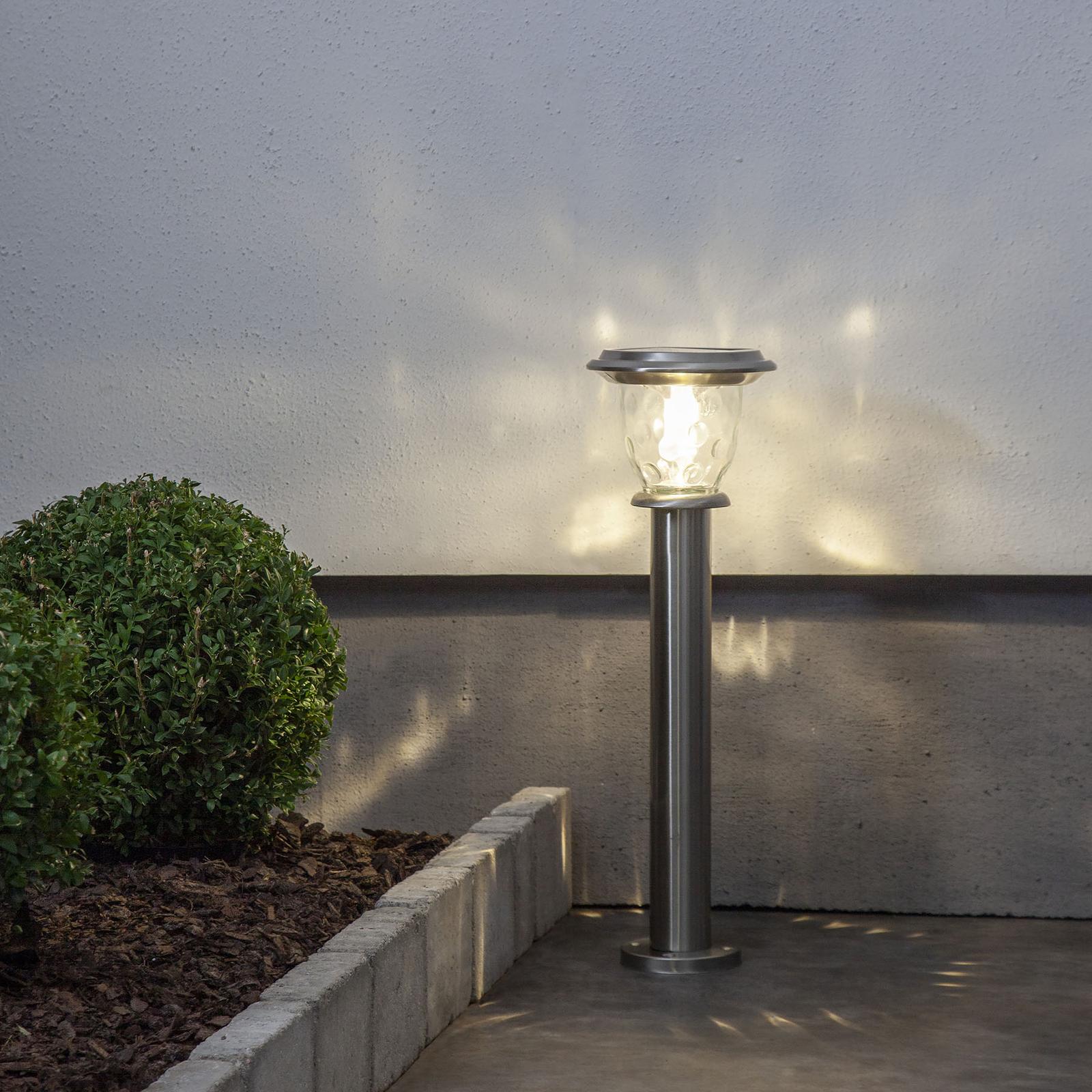 Solarny słupek ogrodowy Pireus czujnik dzień/noc