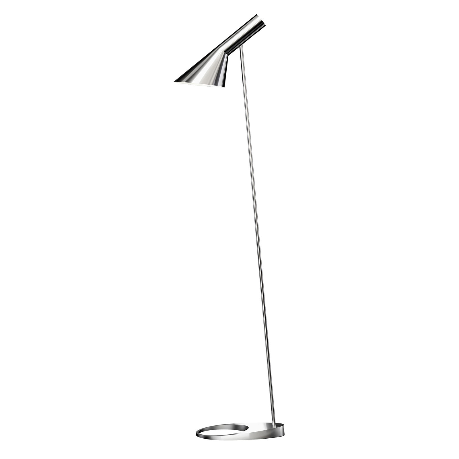 Verstelbare lampenkop - vloerlamp AJ zwart