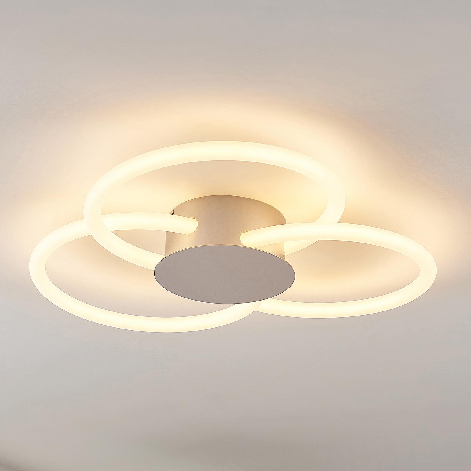 Lucande Clasa LED plafondlamp, 3-lamps