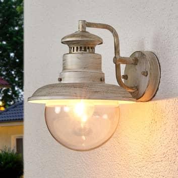 Lampa ścienna zewnętrzna w antycznym klimacie Artu