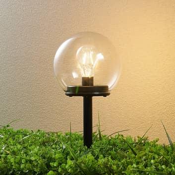 Lindby Roana -LED-aurinkovalaisin, puutarha, pöytä
