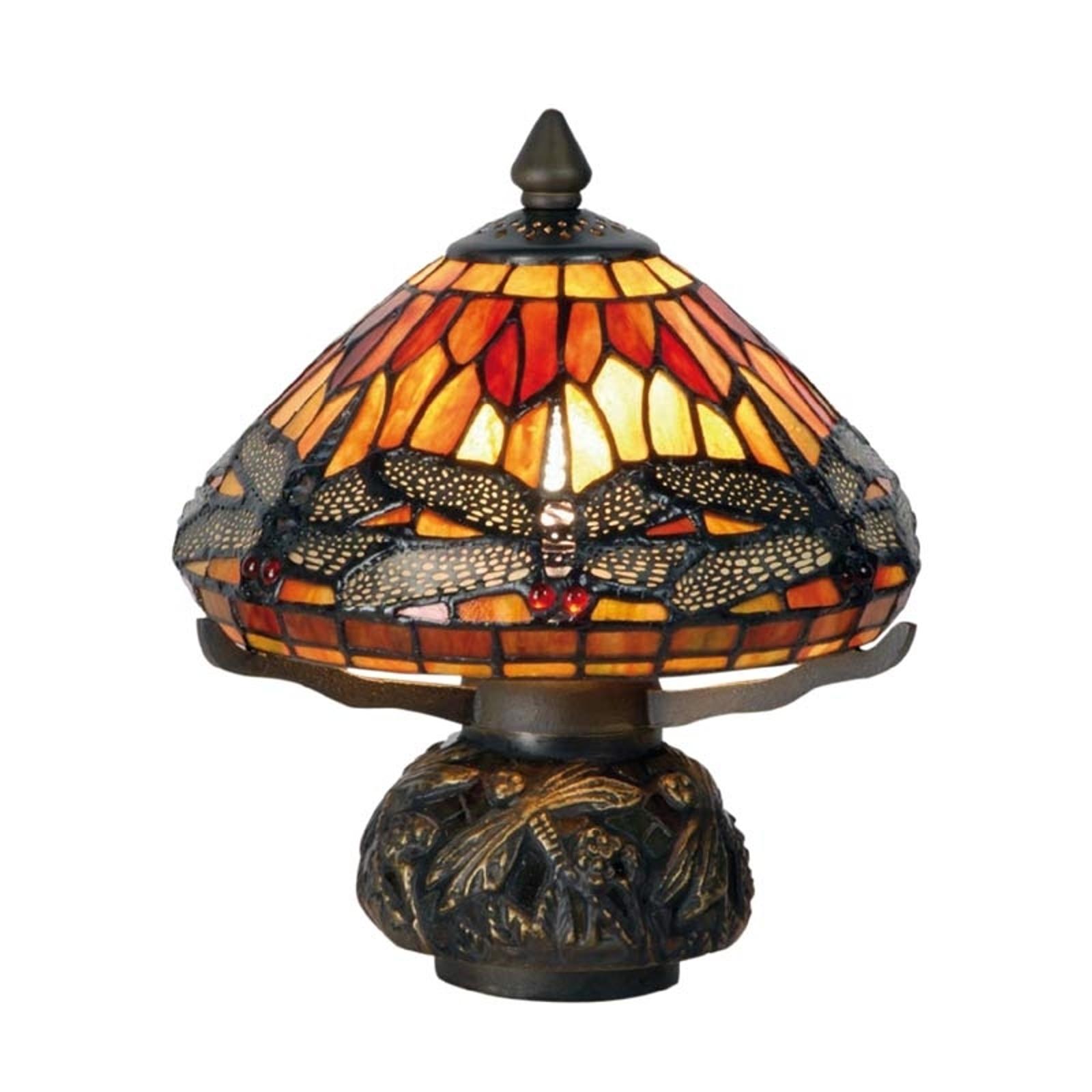 Graziosa lampada da tavolo Libella - Tiffany