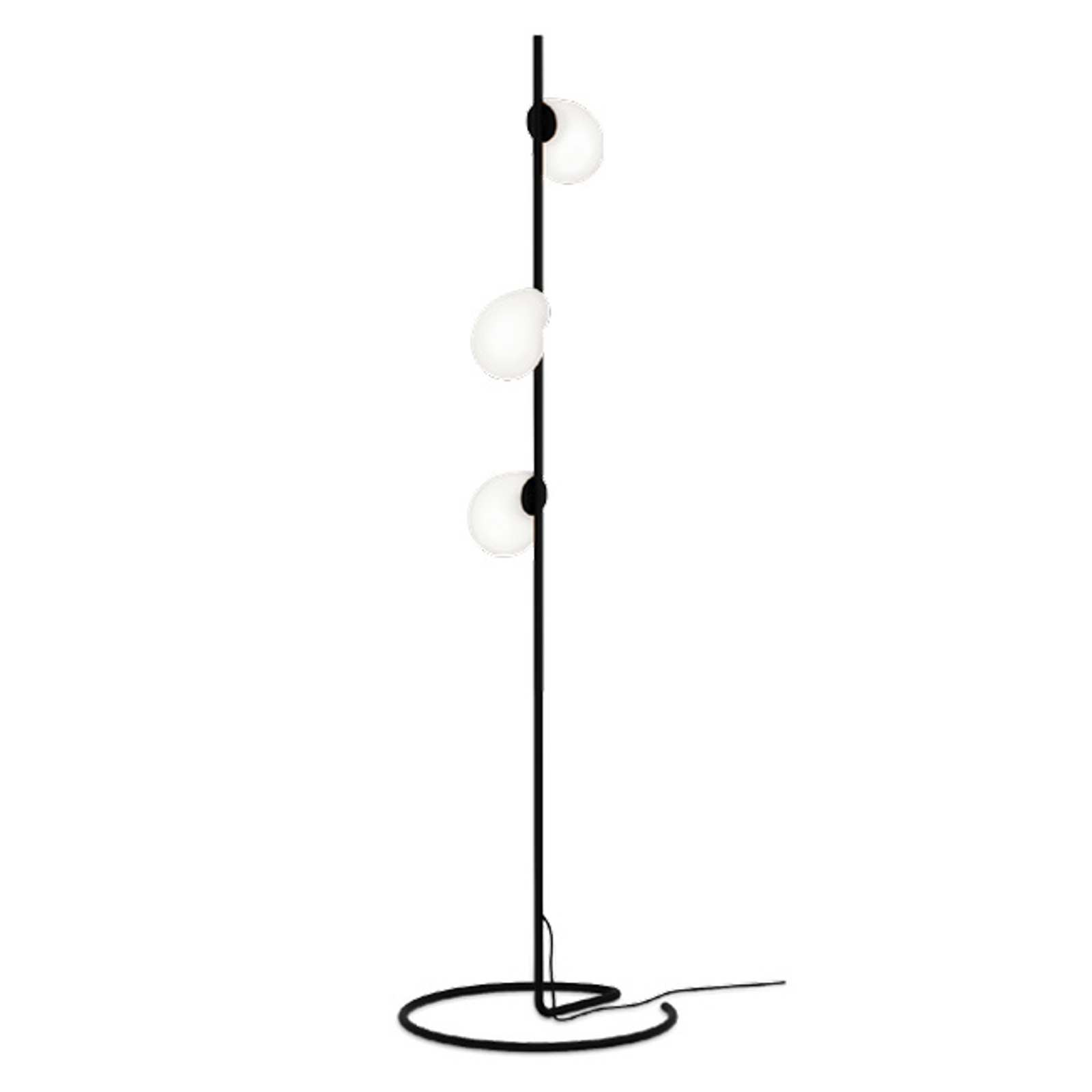 WEVER & DUCRÉ Dro 1.0 Comp vloerlamp zwart-wit