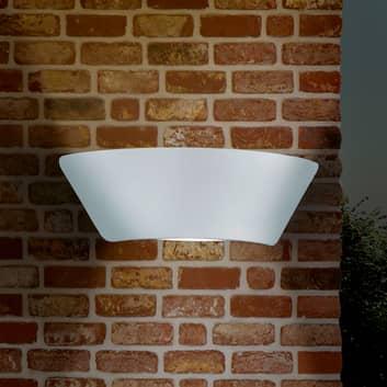 LED-ulkoseinälamppu Sacramento, valkoinen