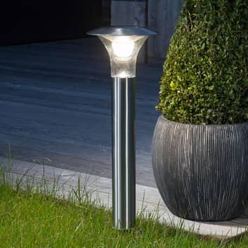 Lámpara varilla toma a tierra Jolin LED, al. solar